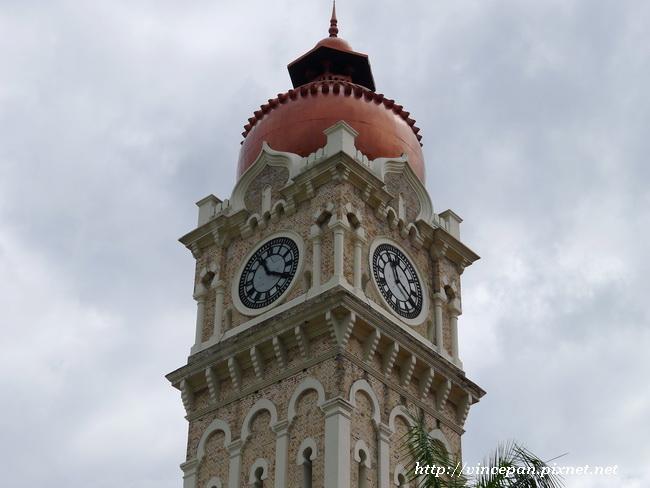 蘇丹阿都沙末大樓 鐘樓1