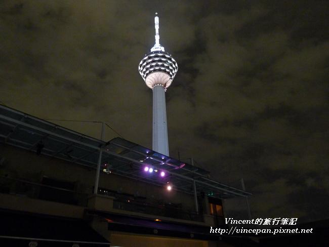 Luna Bar 看 吉隆坡塔