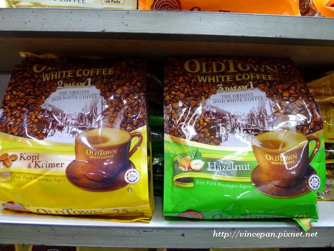 Oldtown White Coffee 咖啡包