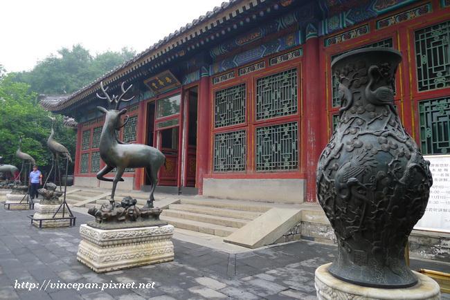 樂壽堂 銅雕