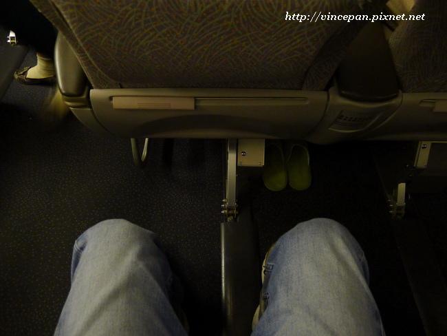 菁英艙 座位空間