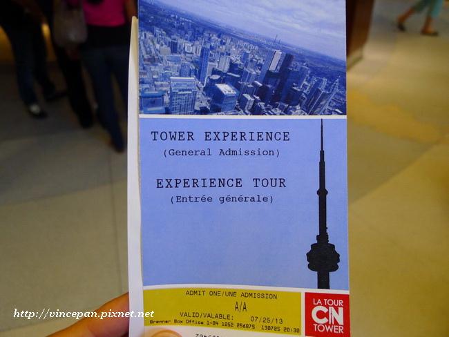 CN Tower門票