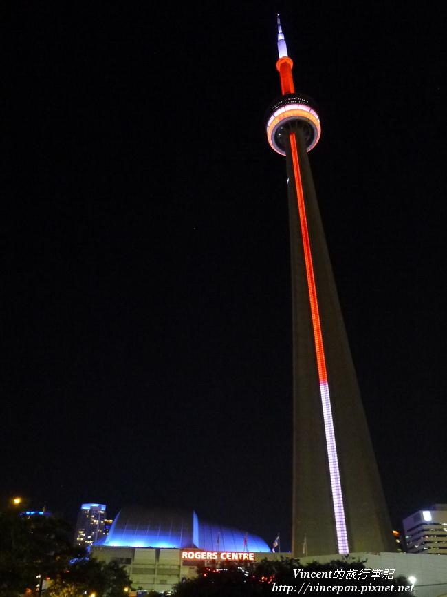 CN Tower 夜景1