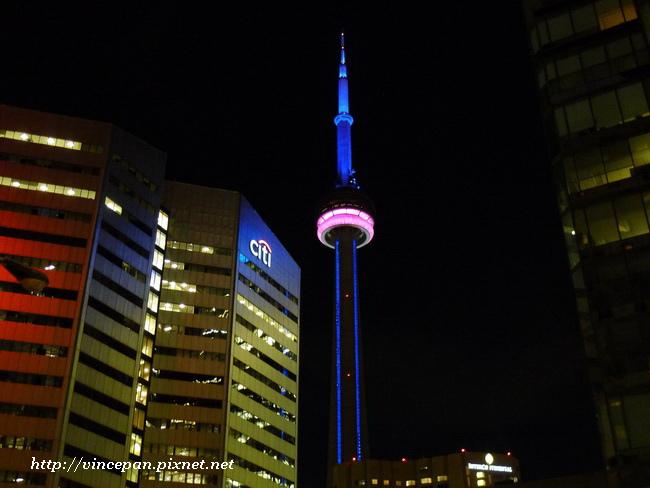 CN Tower 夜景2