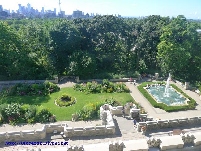 英式花園 俯瞰