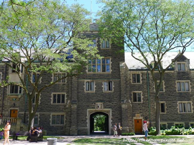 Trinity College建築1