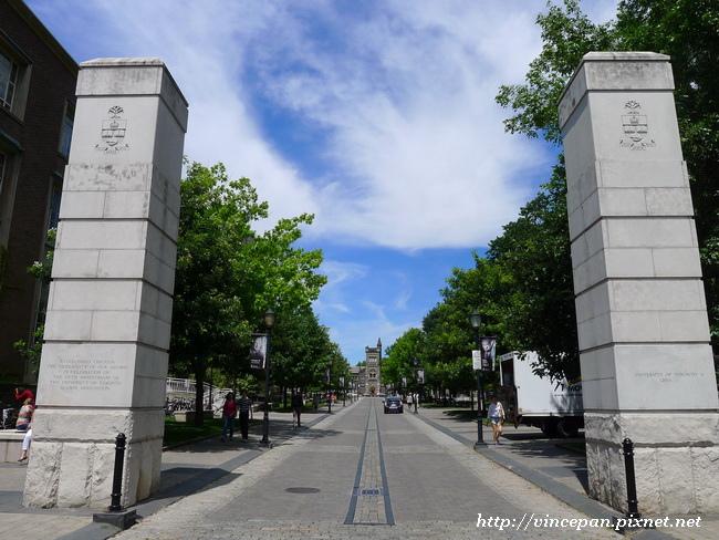 University of Toronto 校門