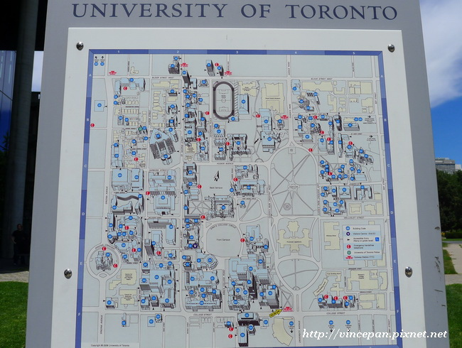 University of Toronto Map