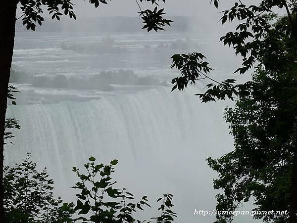 花園瞥見尼加拉瀑布