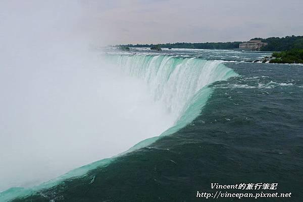 馬蹄瀑布 水流