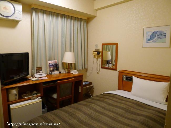 ホテルルートイン房間