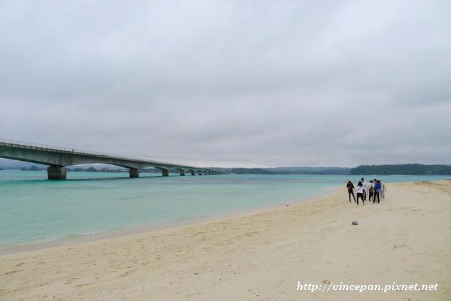 古宇利大橋 沙灘2