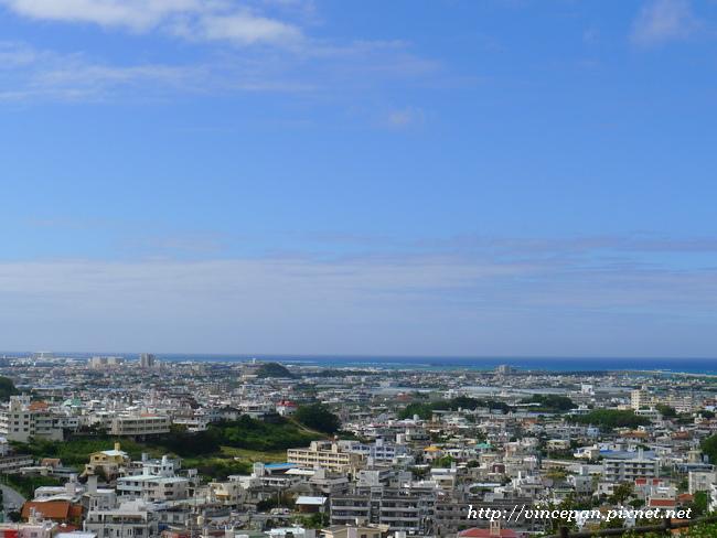 眺望市區海洋