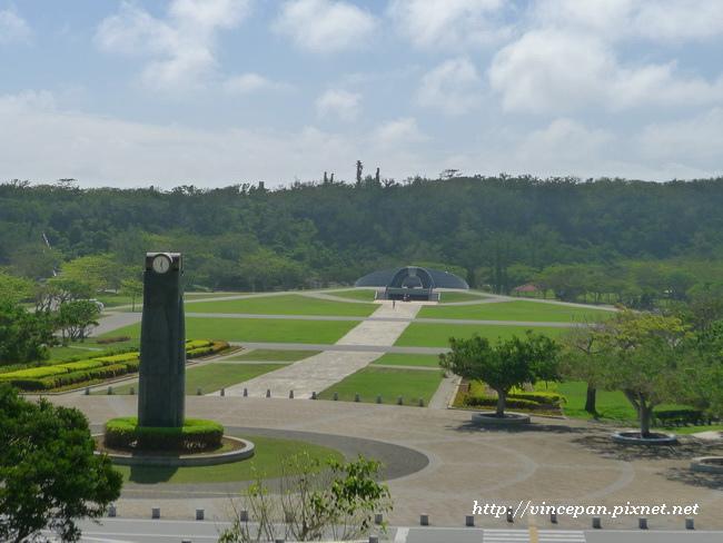 式典廣場與平和之丘