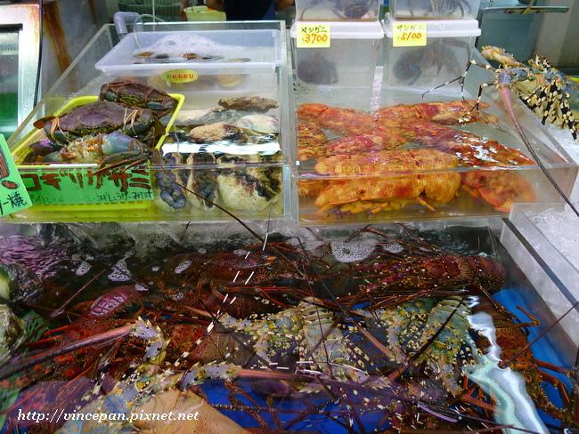 龍蝦跟戰車蝦