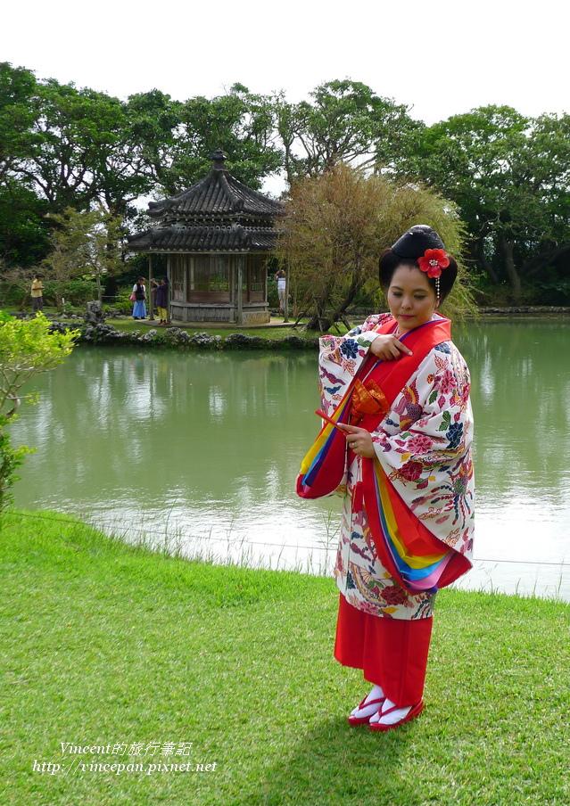 琉球傳統婚禮 新娘