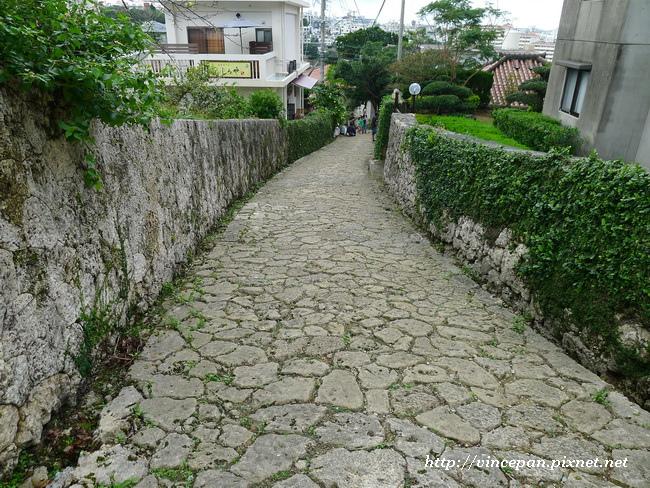 石疊道 上坡