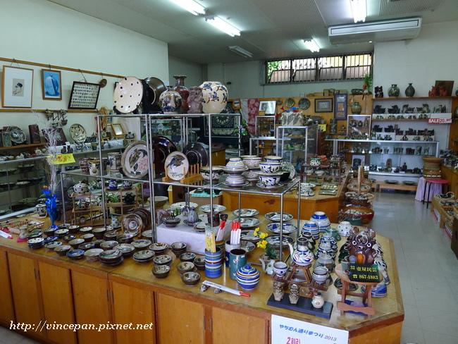 陶器店內2