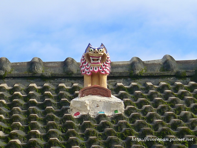 招福獅 屋頂3
