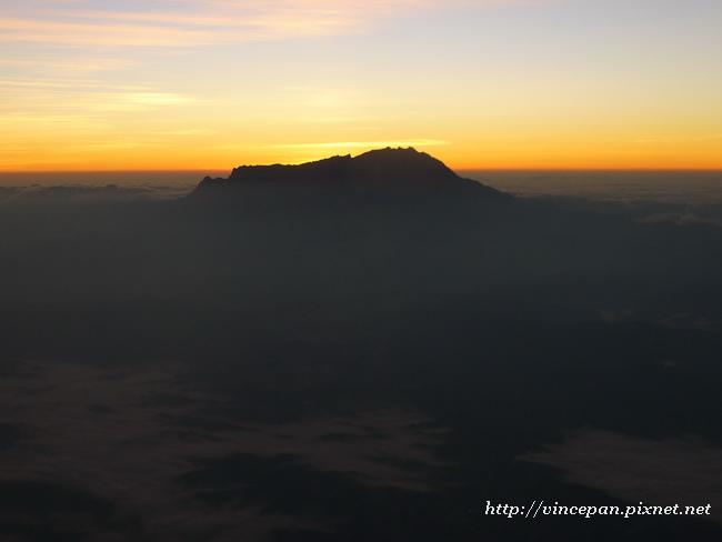 神山與雲海