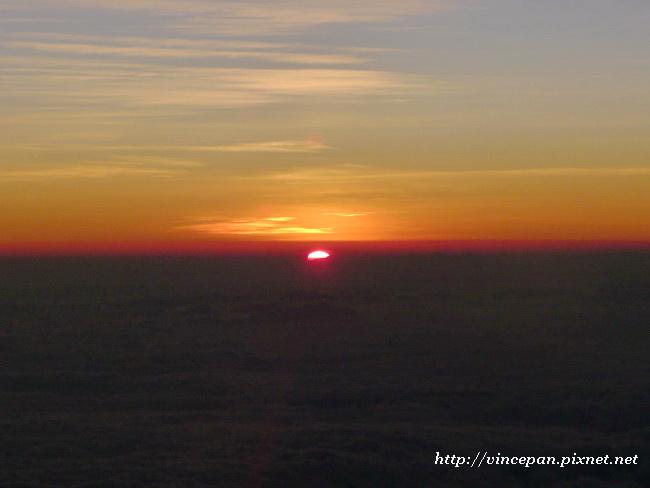 雲海上的日出2