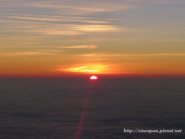 雲海上的日出3