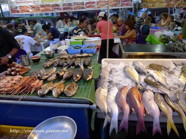 菲律賓市場 海鮮1