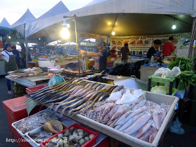 菲律賓市場 海鮮2
