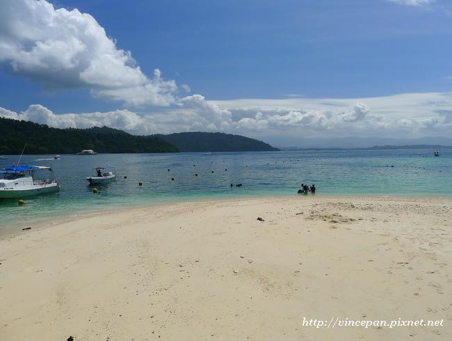 沙比島白色沙灘2
