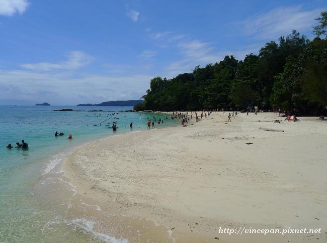 沙比島白色沙灘1