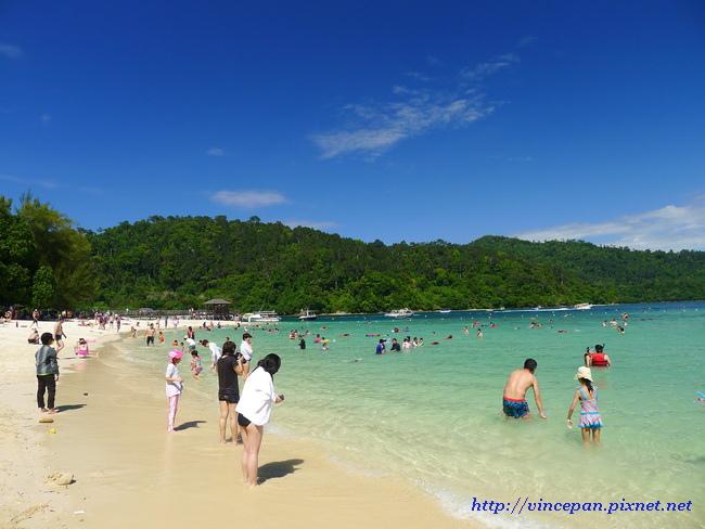 沙比島白色沙灘5