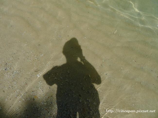剪影 海水