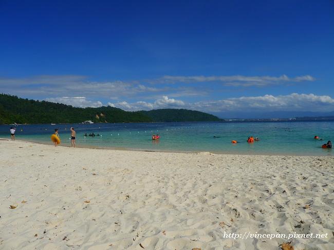 沙比島白色沙灘6