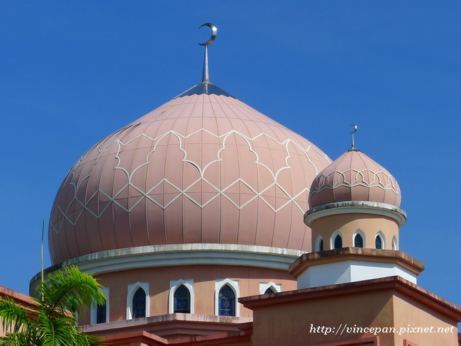 粉紅清真寺 圓頂