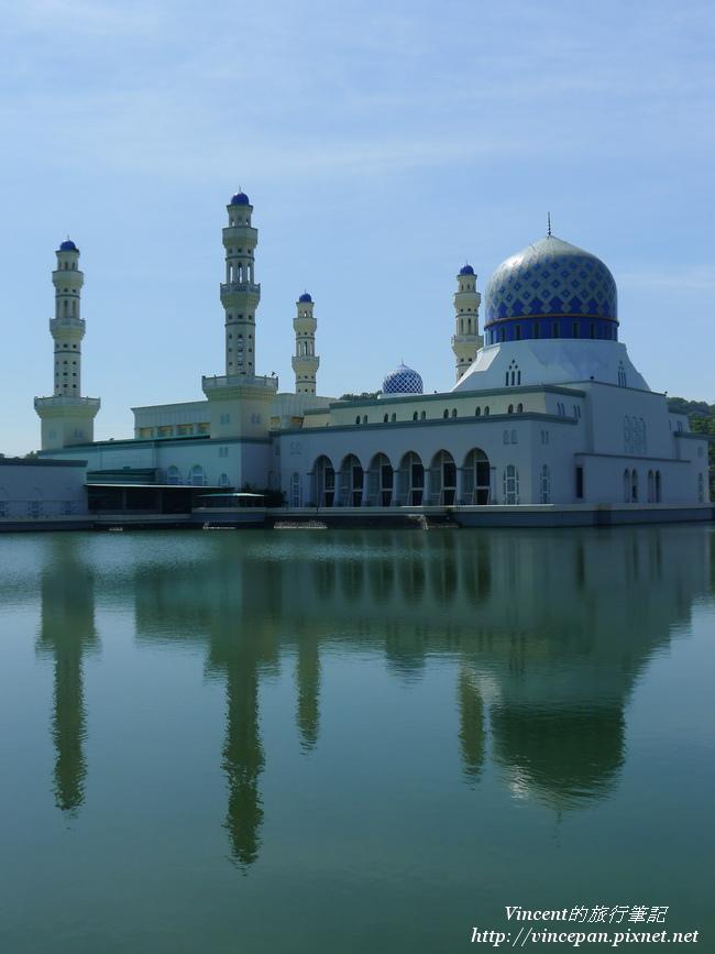 水上清真寺倒影1