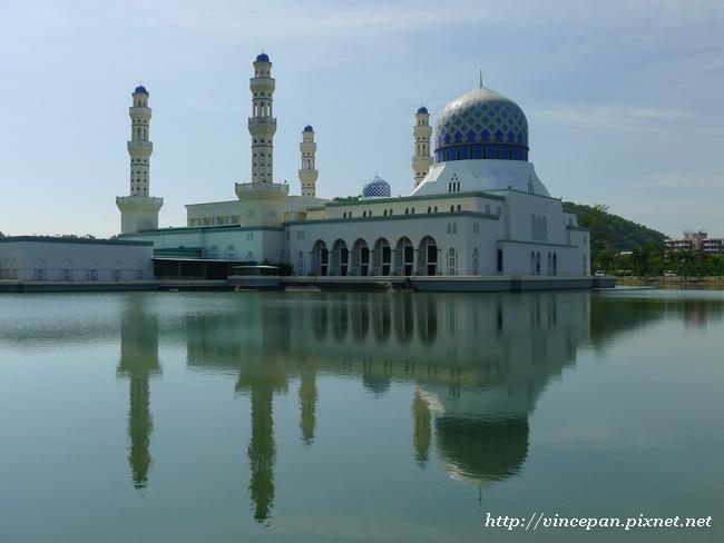 水上清真寺倒影2