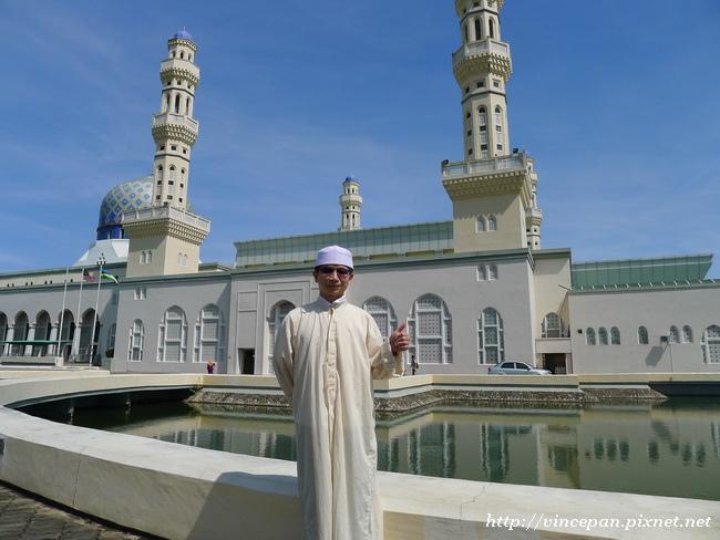 水上清真寺 合照