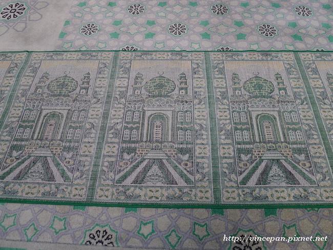地毯上的清真寺圖