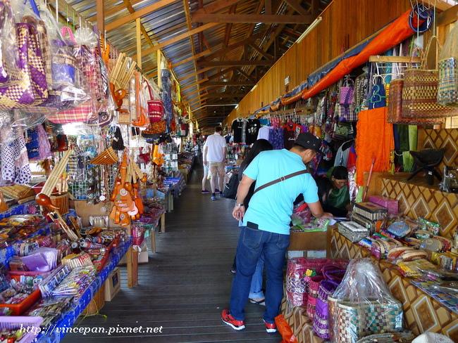 Pekan Nabalu水果市場