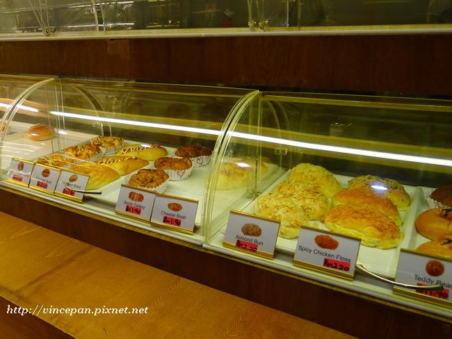 富源茶室 麵包