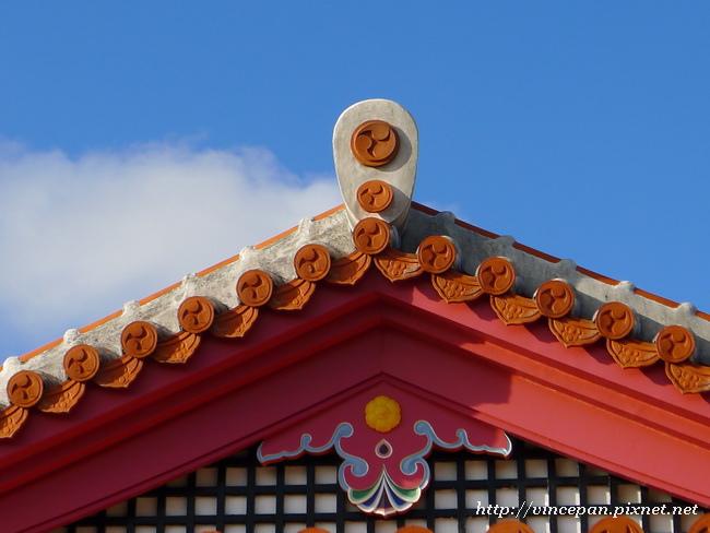 波上宮 屋頂