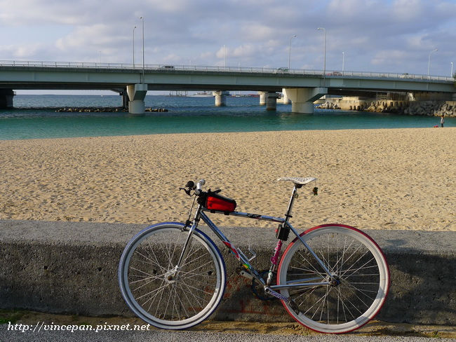 波之上海灘 單車