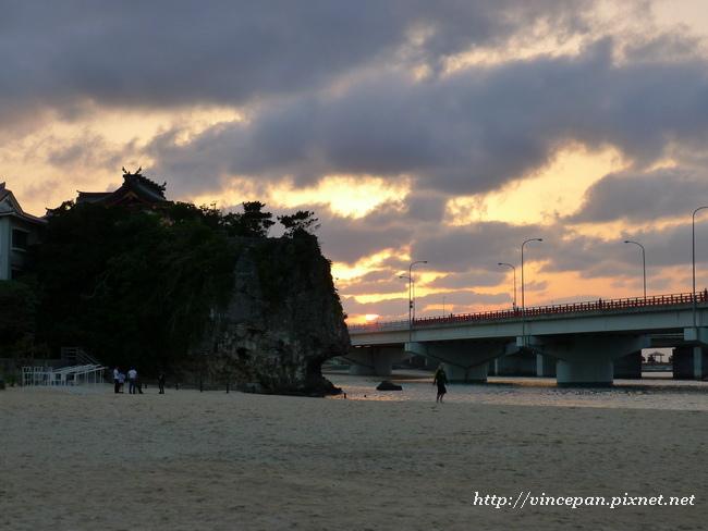波之上海灘 傍晚1