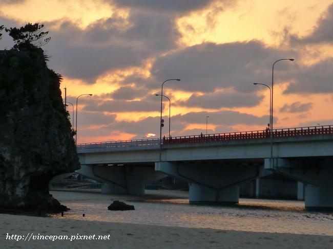 波之上海灘 傍晚2