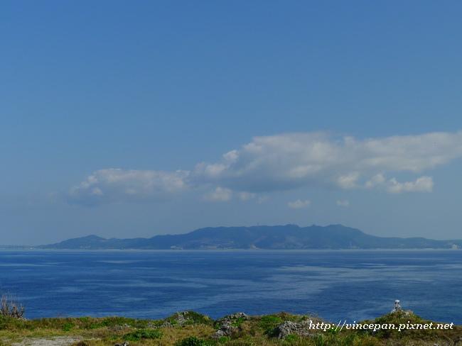 對面的離島