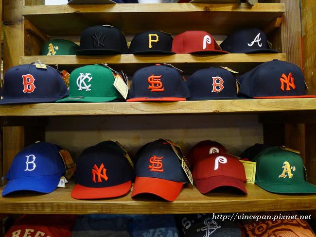 球隊的帽子