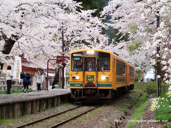 芦野公園站 火車
