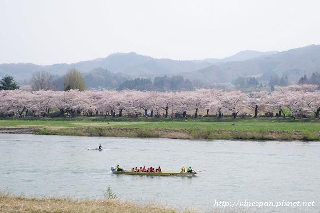 北上川 划船1