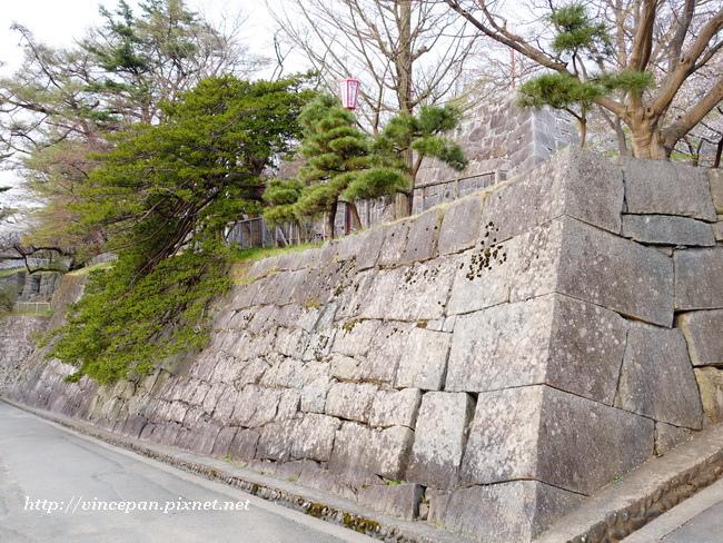 石垣 斜坡