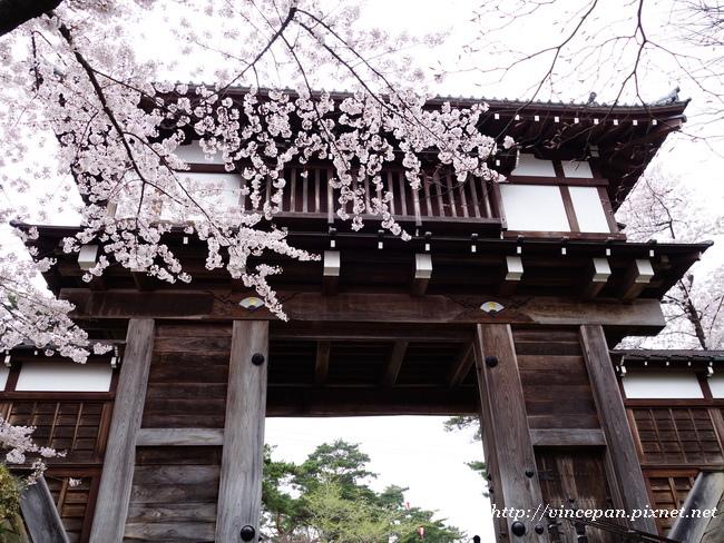 表門 櫻花